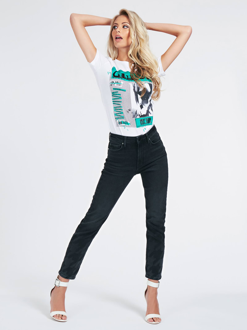 RELAXED JEANS LASERPRINT  image number 1