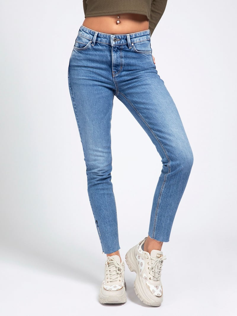 JEANS SKINNY  RICAMO  image number 0