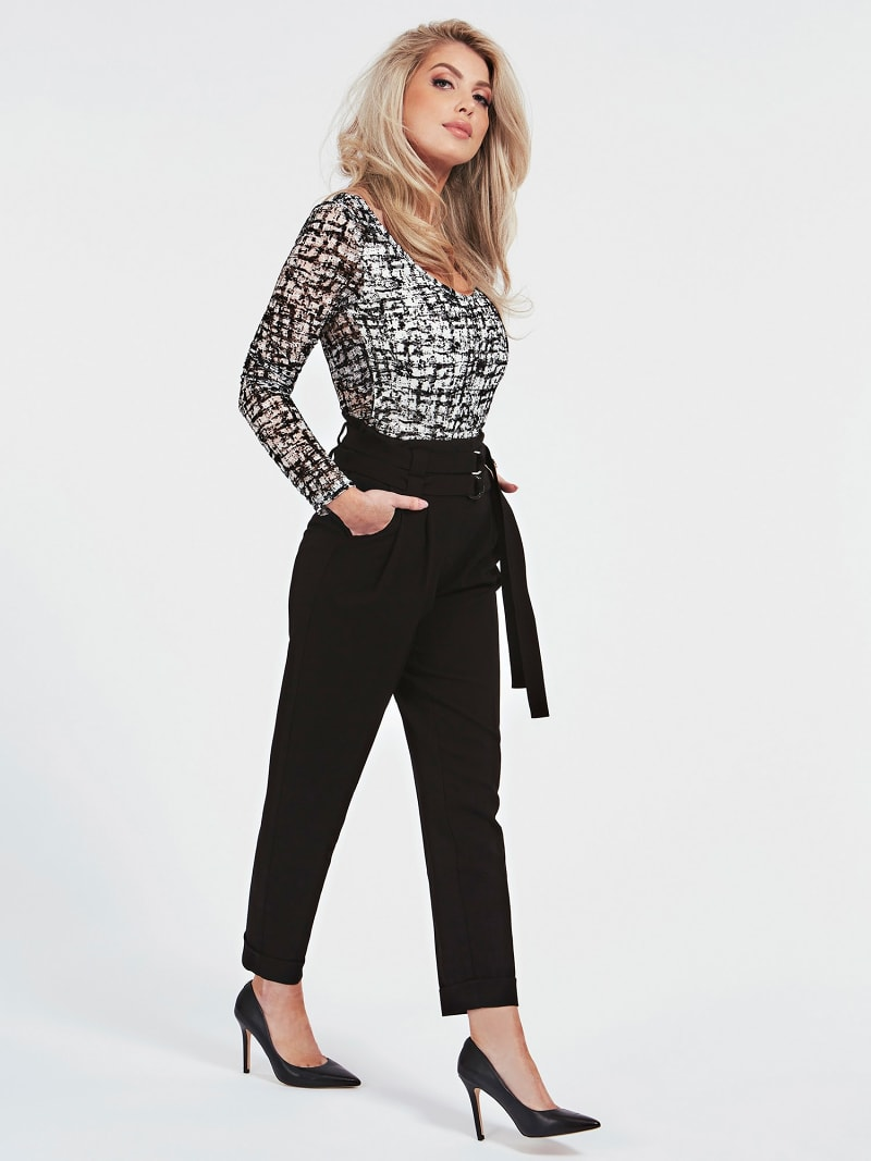 CARGO FIT BELTED PANT image number 2