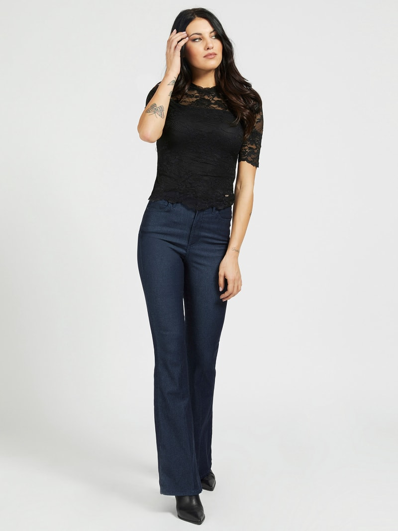 FIT & FLARE BROEK image number 1