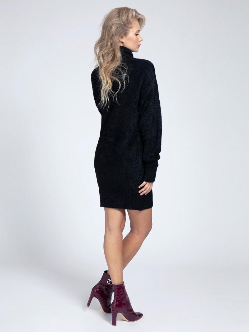 HIGH-NECK KNIT DRESS image number 1