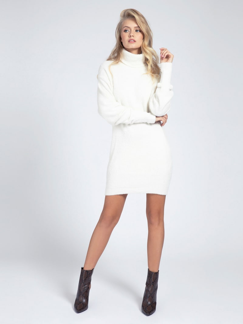 HIGH-NECK KNIT DRESS image number 0