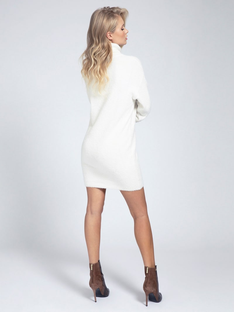 HIGH-NECK KNIT DRESS image number 1