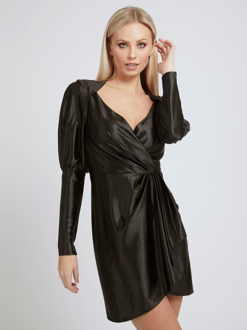 DRAPED DRESS image number 2