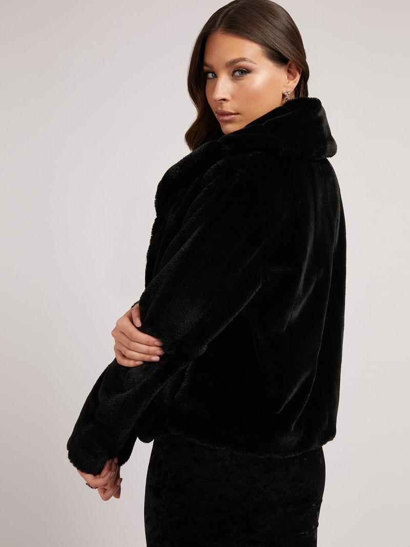 FAUX FUR JACKET image number 2