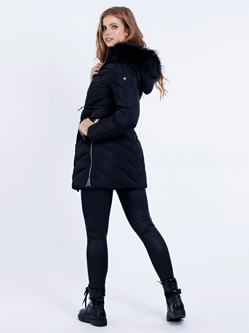 PADDED LONG JACKET image number 2