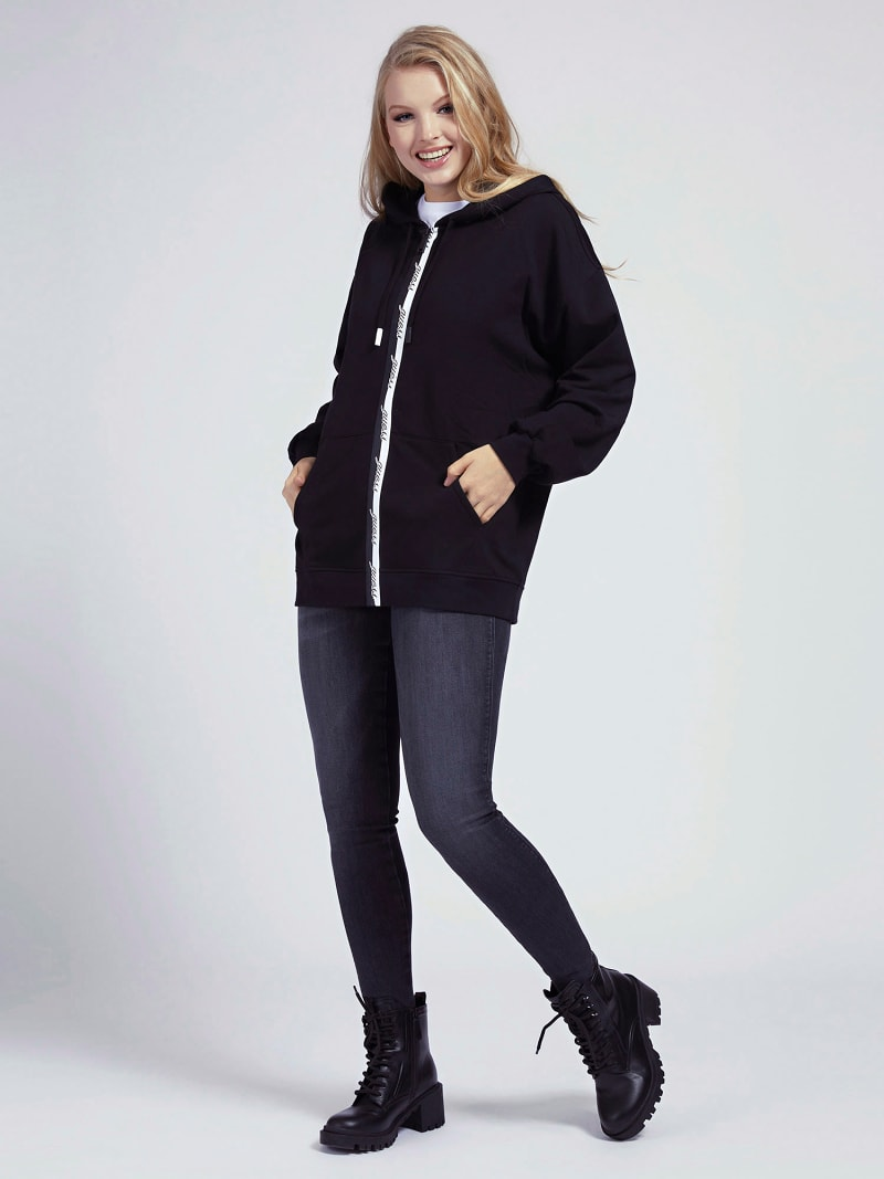 SWEATSHIRT OVERSIZE COLORBLOCK image number 1