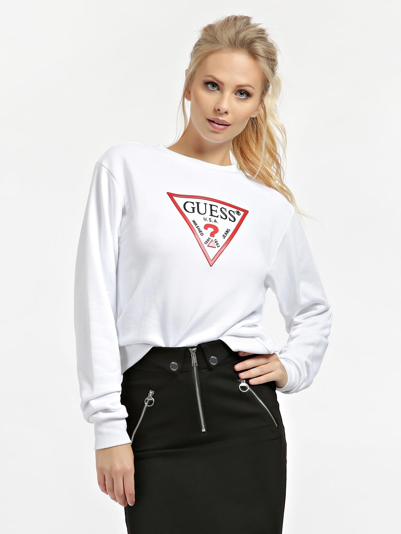 TRIANGLE LOGO SWEATSHIRT image number 0
