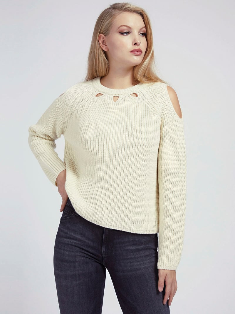 CUT-OUT SWEATER image number 0