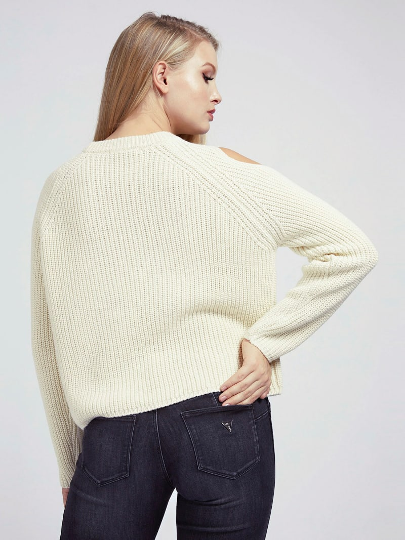 CUT-OUT SWEATER image number 2