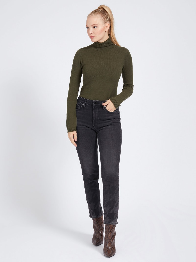 HIGH-NECK SWEATER image number 1