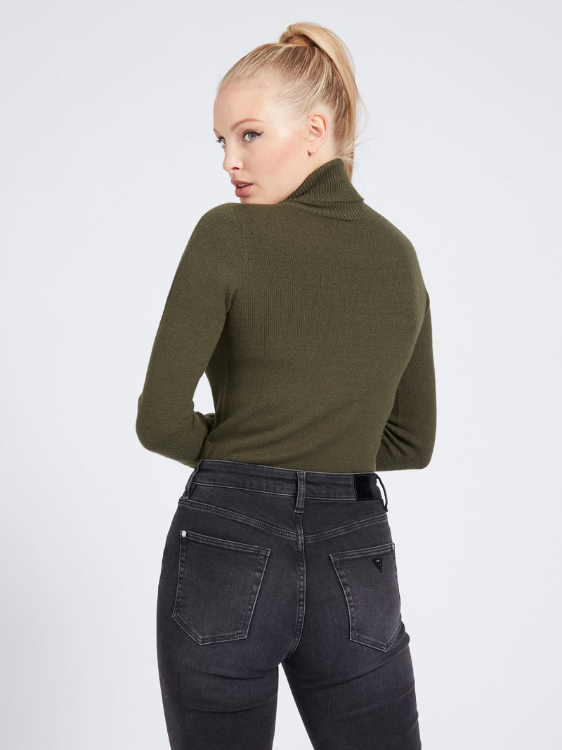 HIGH-NECK SWEATER image number 2