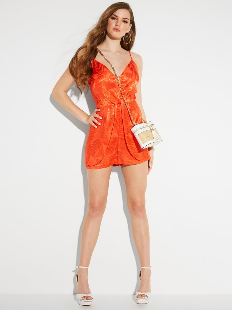 FRONT CUT-OUT PLAYSUIT image number 2