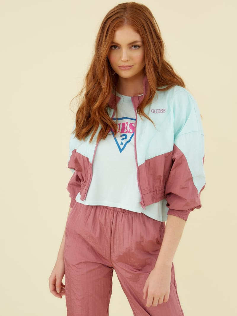 COLOUR-BLOCK WINDBREAKER image number 0
