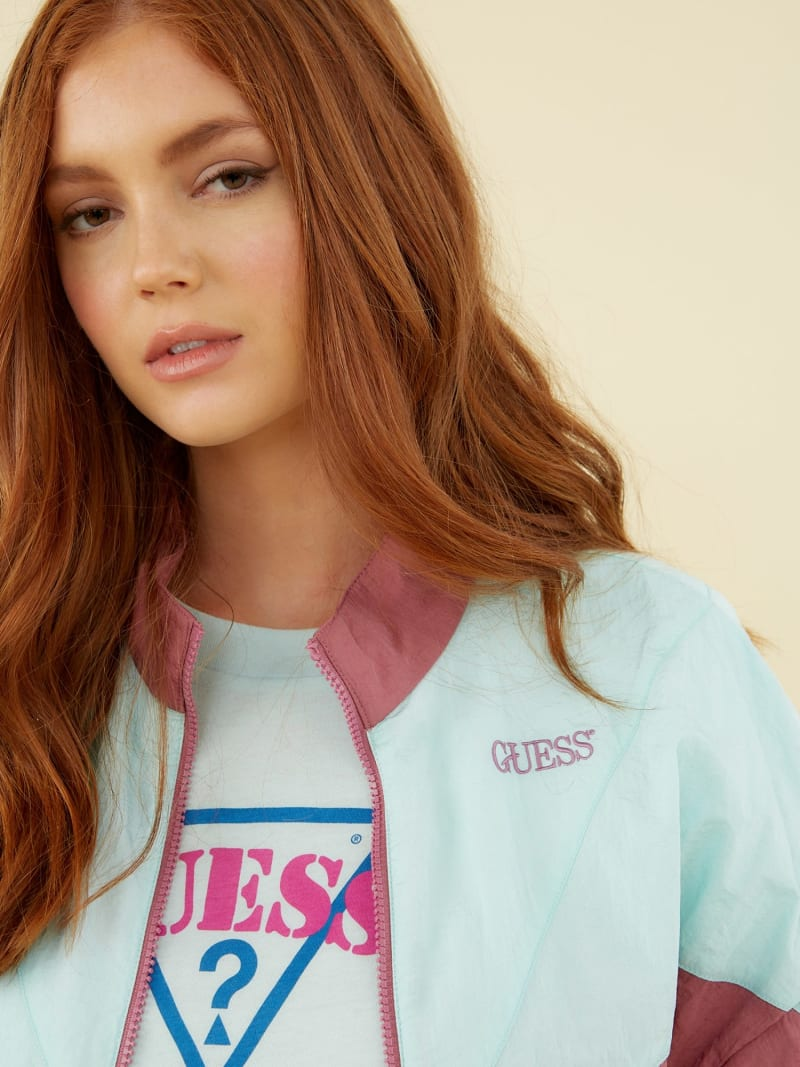 COLOUR-BLOCK WINDBREAKER image number 2