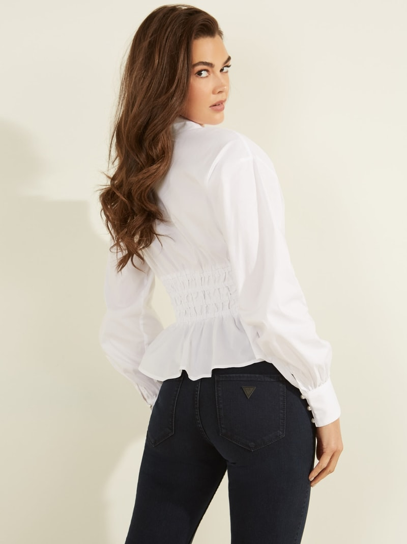 BLOUSE FRONCES image number 3