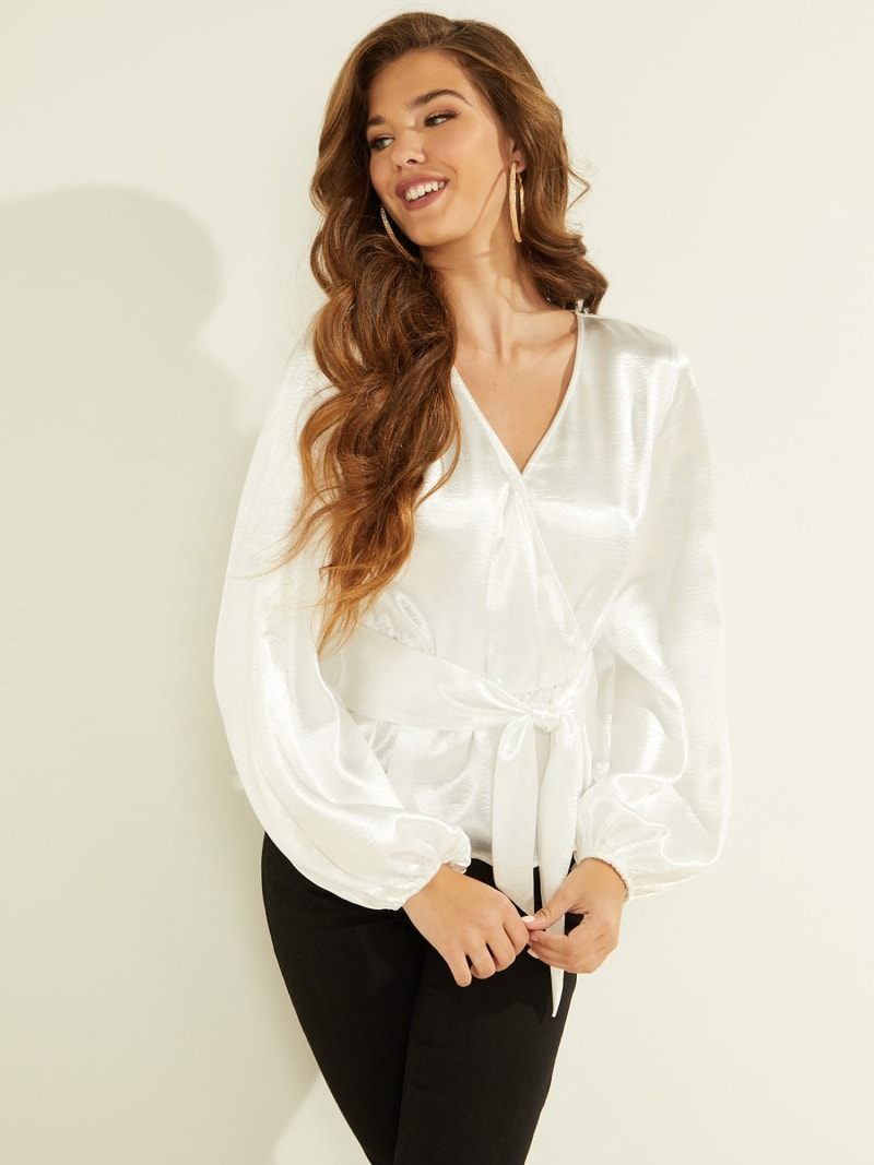 BLOUSE PUFF SLEEVES image number 0