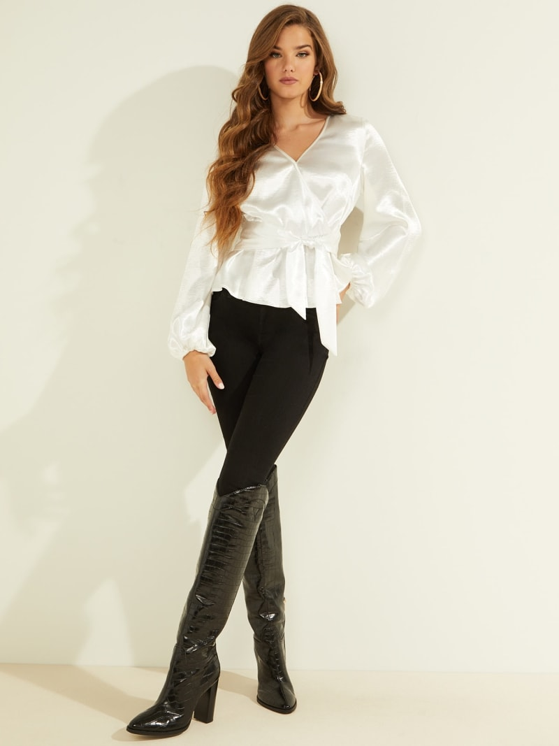 BLOUSE PUFF SLEEVES image number 1