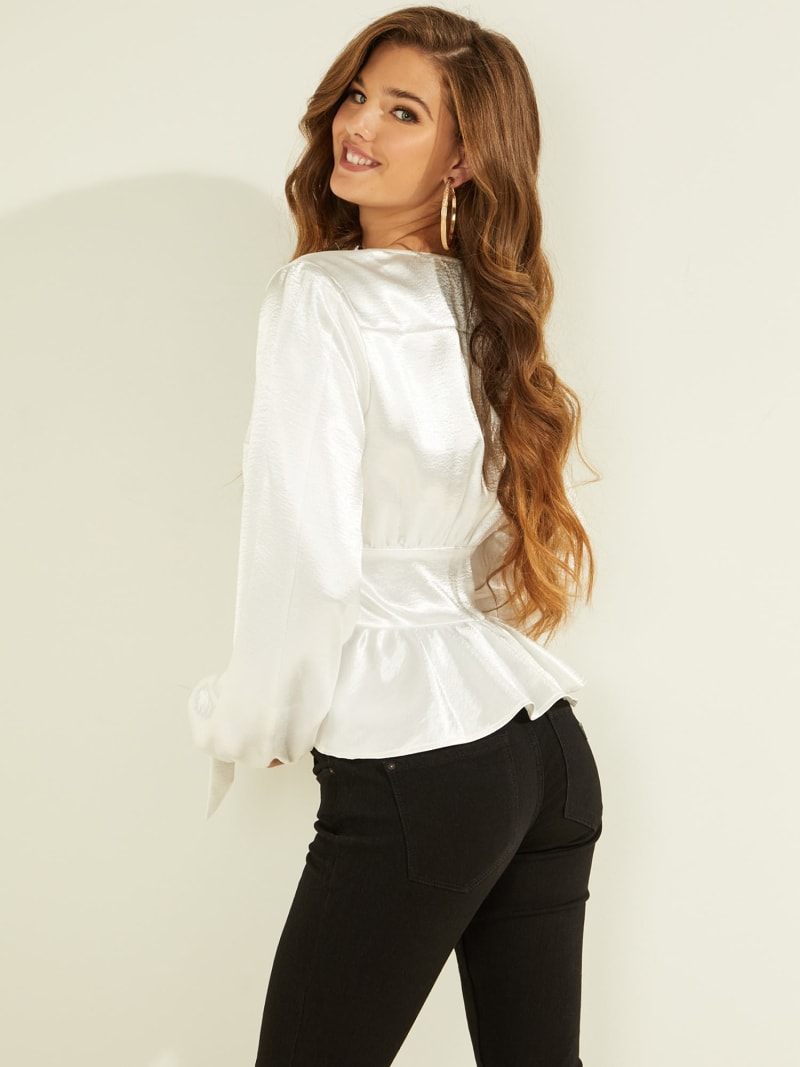 BLOUSE PUFF SLEEVES image number 3