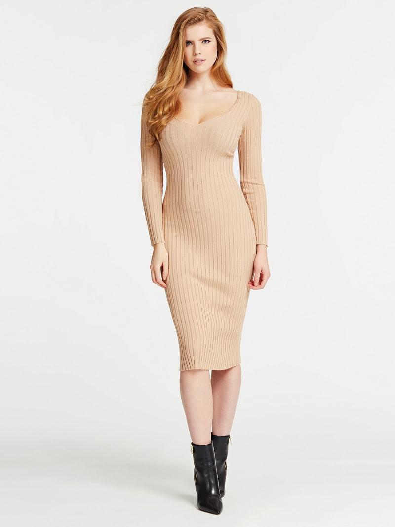 OFF-THE-SHOULDER LONG DRESS  image number 0