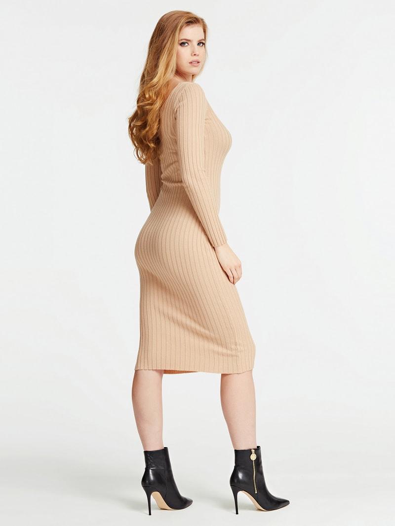 OFF-THE-SHOULDER LONG DRESS  image number 1