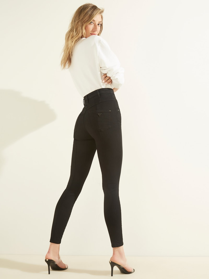 SKINNY FIT DENIM PANT image number 5