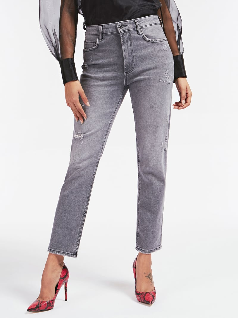 DESTROYED RELAXED FIT DENIM PANT image number 0