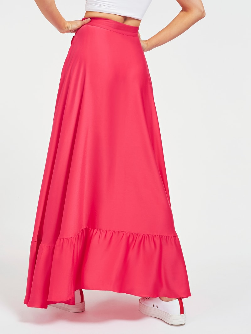 LONG FRILL SKIRT image number 2