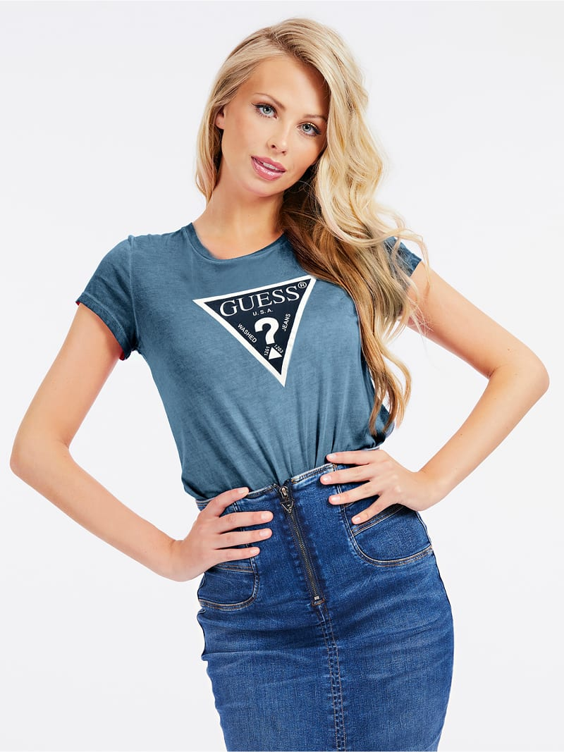 T-SHIRT TRIANGOLO LOGO  image number 0