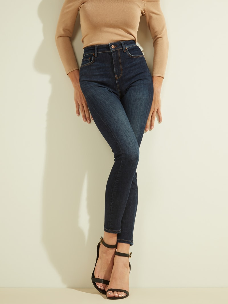 JEANS SKINNY PUSH UP image number 0
