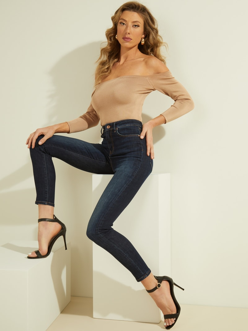 JEANS SKINNY PUSH UP image number 4