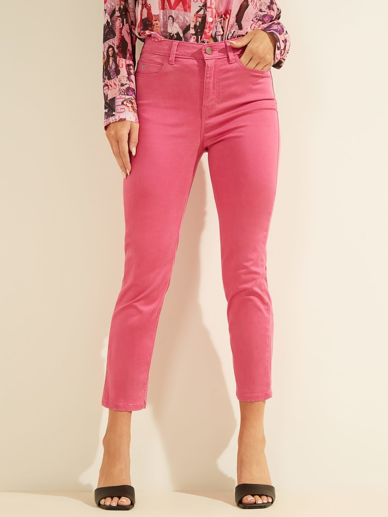 EMBROIDERY SKINNY FIT PANT image number 0
