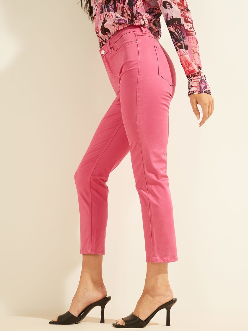 EMBROIDERY SKINNY FIT PANT image number 4