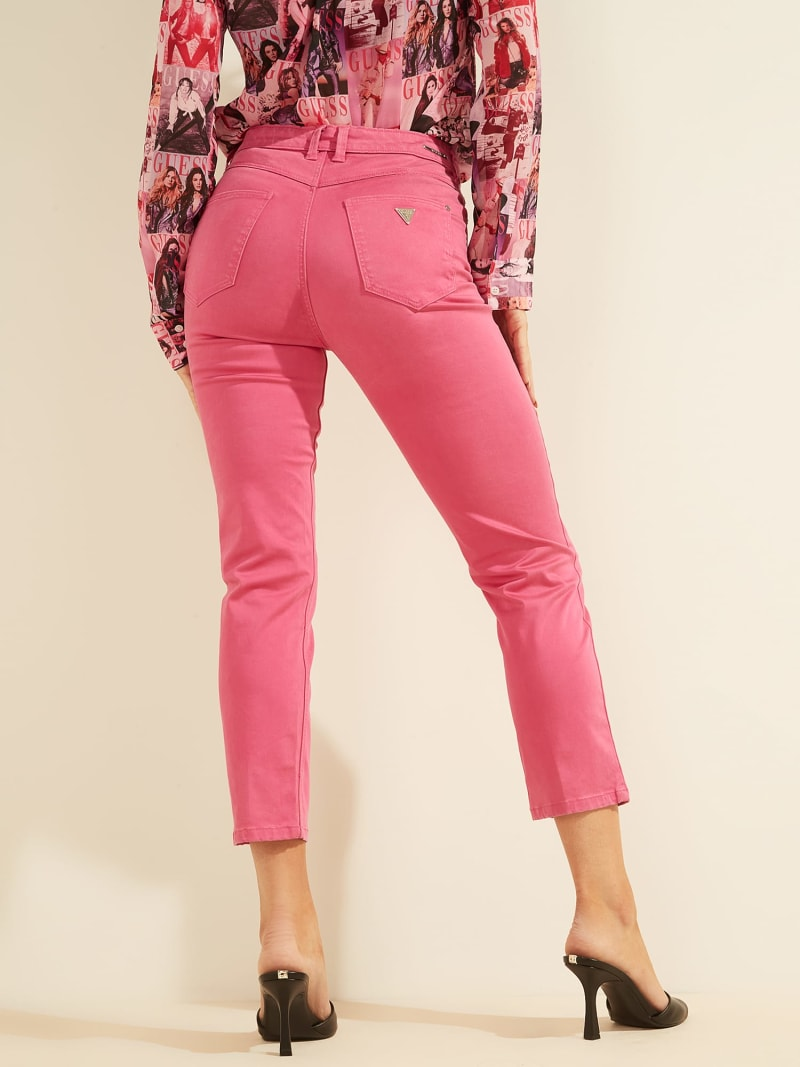 EMBROIDERY SKINNY FIT PANT image number 5