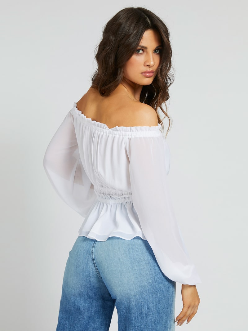 BLOUSE OFF-SHOULDER image number 2