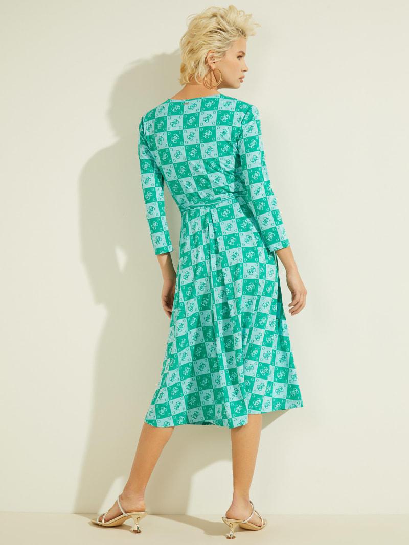 LOGO ALL OVER DRESS image number 3