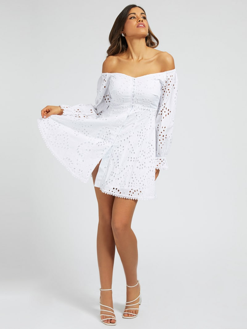 OFF-SHOULDER DRESS image number 0