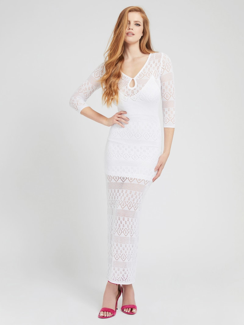 LONG KNIT DRESS image number 0
