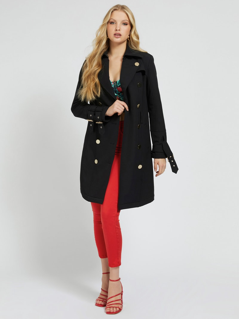 BELTED TRENCH BUTTONS image number 0