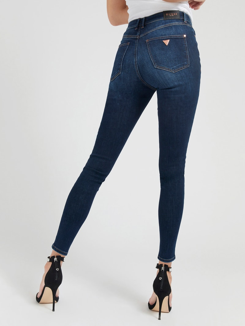 PUSH UP SKINNY FIT DENIM PANT image number 2