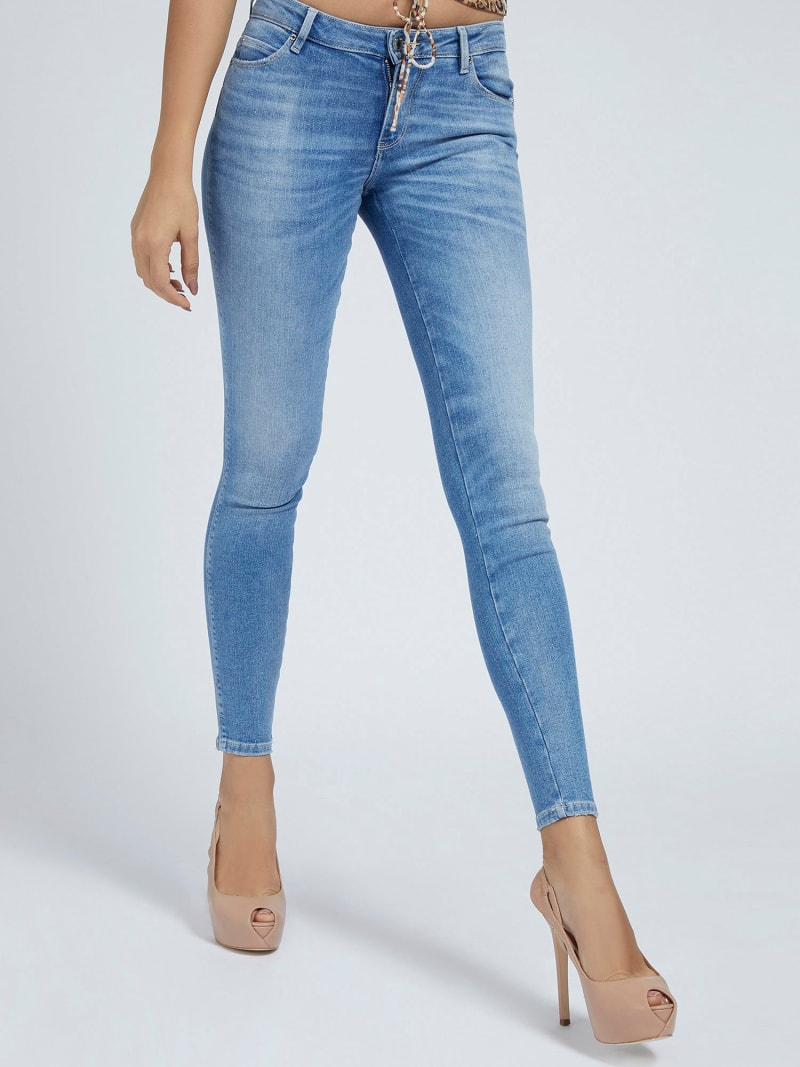 SUPER STRETCH SHAPING FIT DENIM PANT image number 0