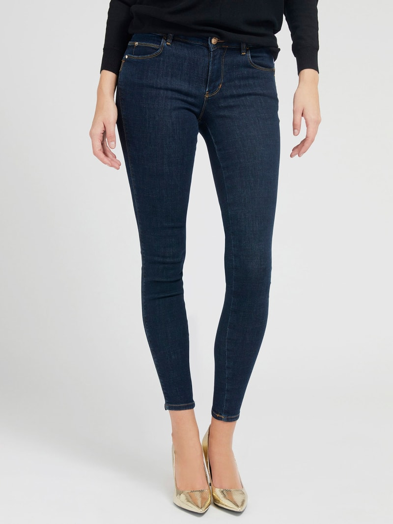 PUSH UP SHAPING FIT DENIM PANT image number 0