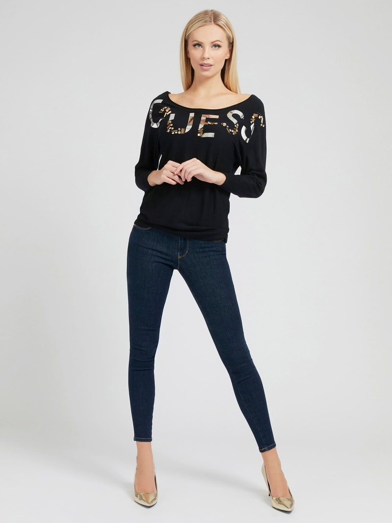PUSH UP SHAPING FIT DENIM PANT image number 1
