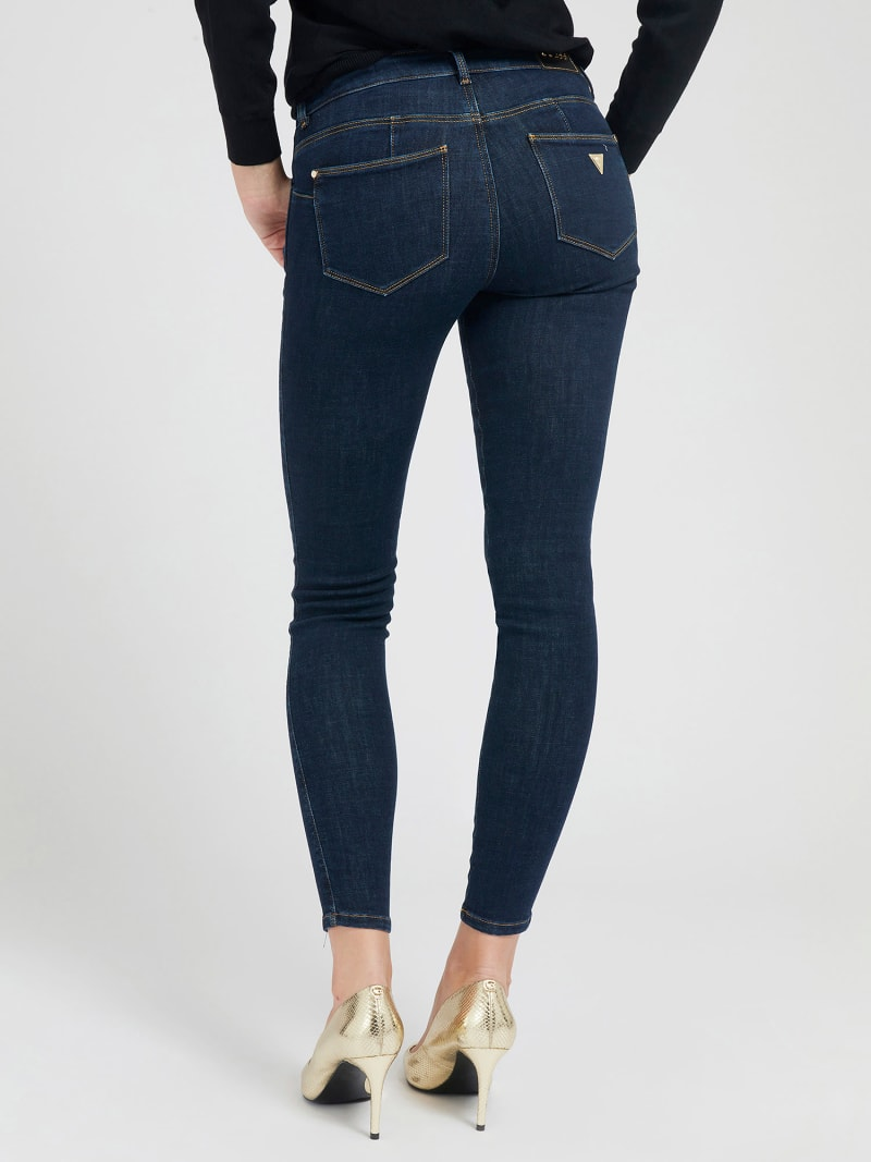 PUSH UP SHAPING FIT DENIM PANT image number 2