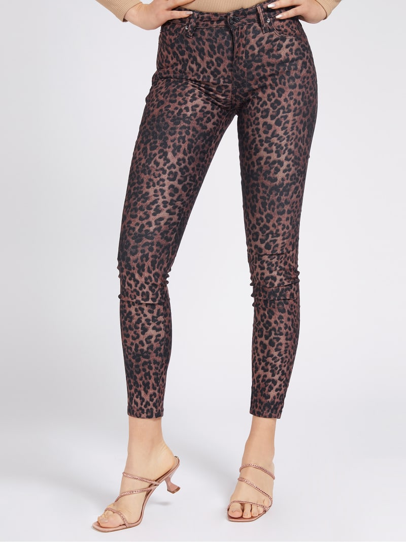 ANIMAL PRINT SHAPING FIT PANT image number 0