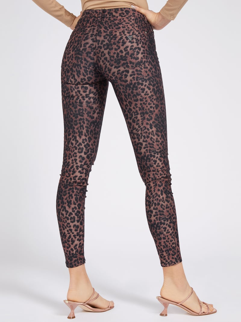 ANIMAL PRINT SHAPING FIT PANT image number 2