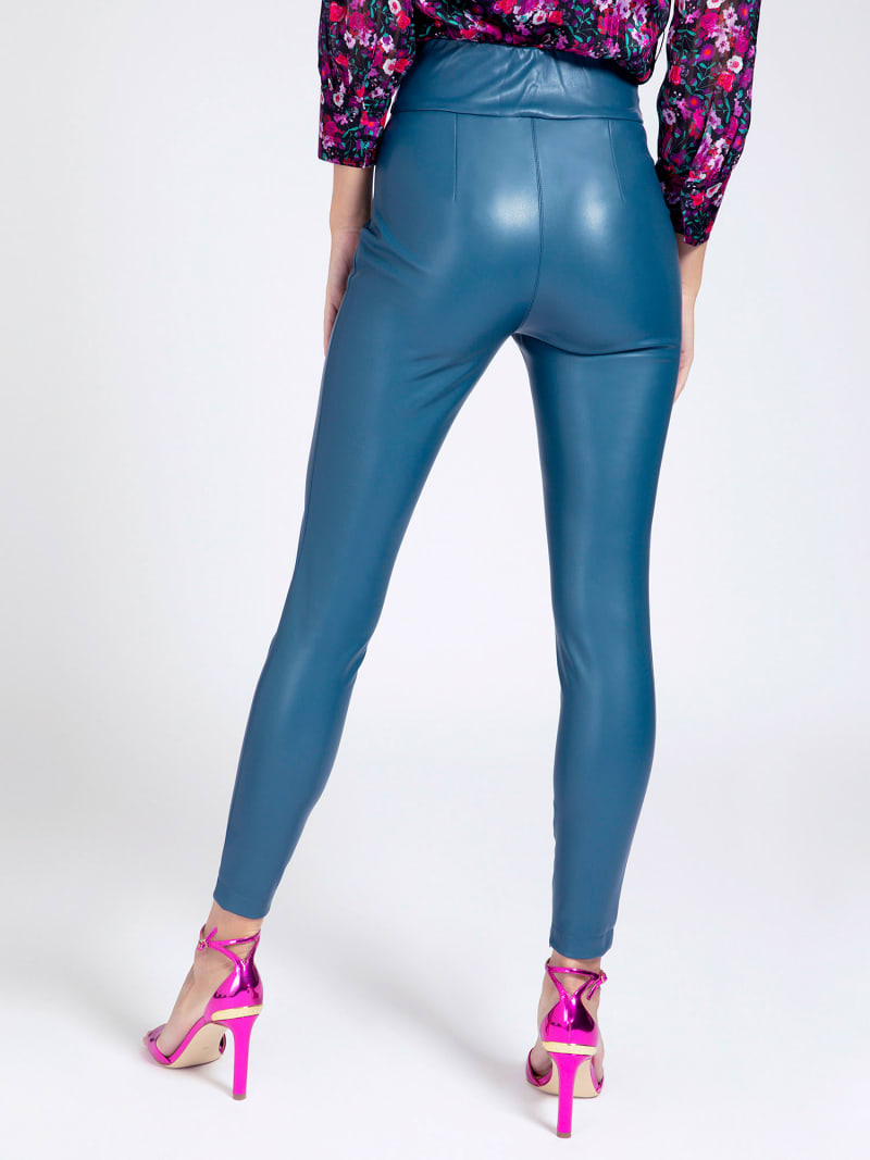 FAUX LEATHER LEGGING image number 2