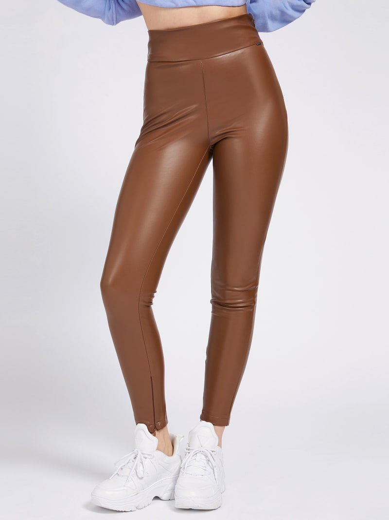 FAUX LEATHER LEGGING image number 0