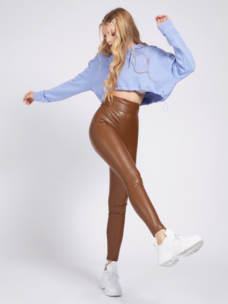 FAUX LEATHER LEGGING image number 1
