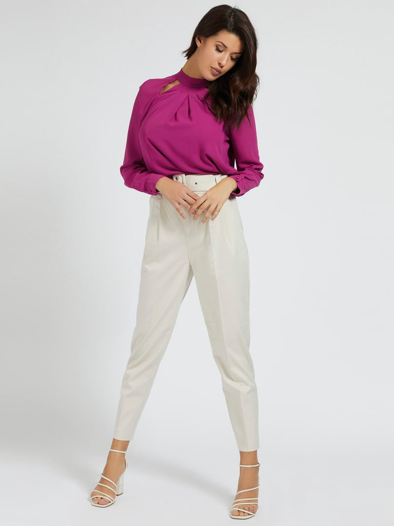 CUT-OUT BLOUSE image number 1